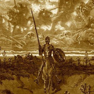 Don Quixote Doré Sepia
